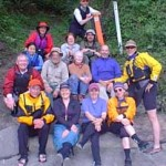WWTA volunteers at a Cascadia Marine Trail site work party