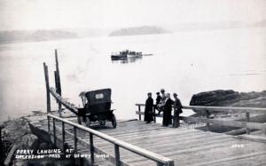 Ferry Landing at Deception Pass - historical