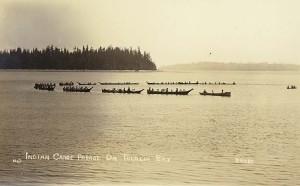 Tulalip Canoes 1912